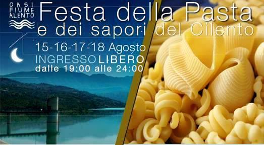Oasi sotto le stelle e Festa della Pasta al fiume Alento di Prignano