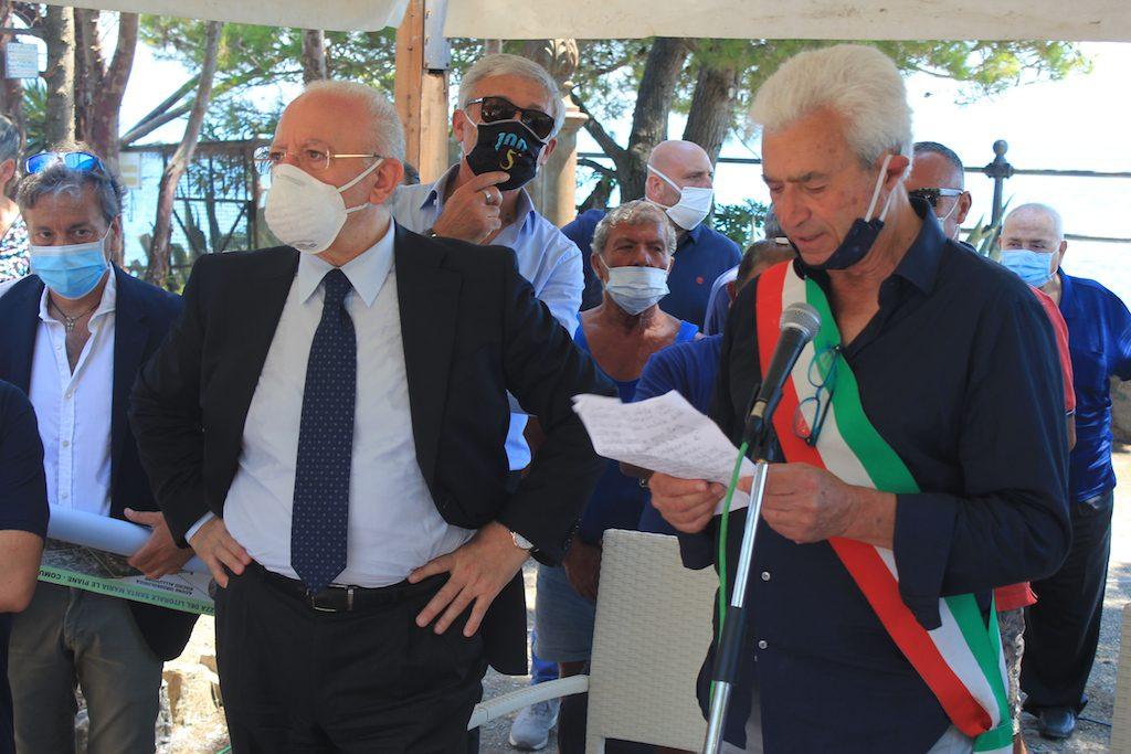 De Luca fa tappa a Villammare: il via al progetto di ...