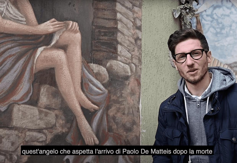 Piano Vetrale, il paese dei murales dove nacque Paolo de Matteis   VIDEO