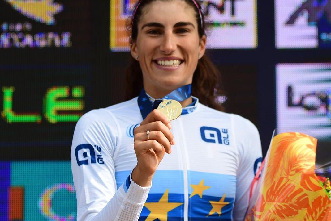 Ciclismo, Cilento in festa per Elisa Balsamo: è oro agli Europei