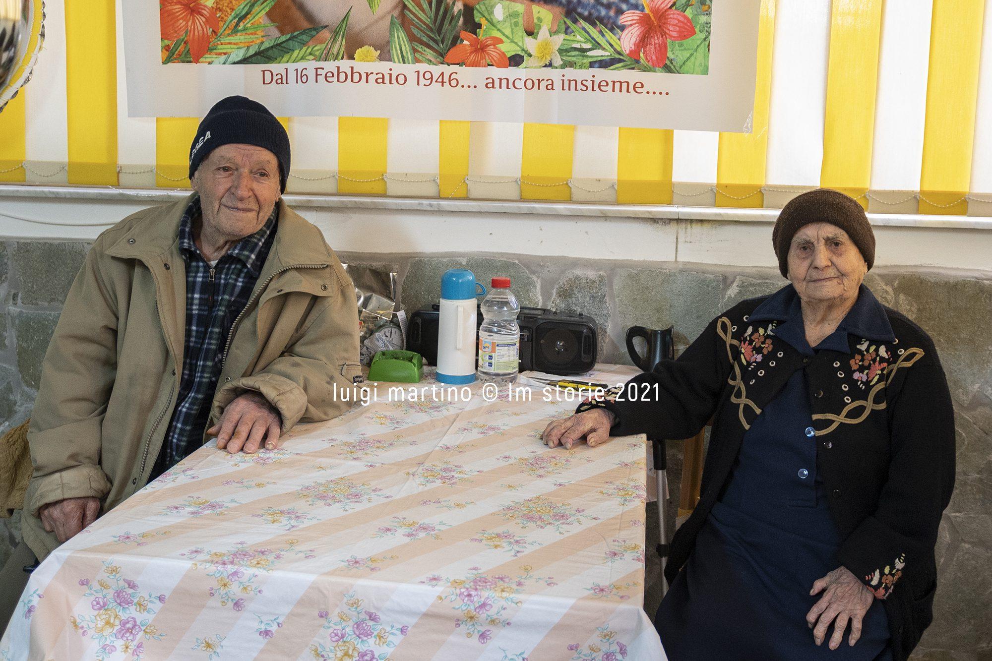 Guerino e Sofia, nel Cilento una delle coppie più longeve d'Italia