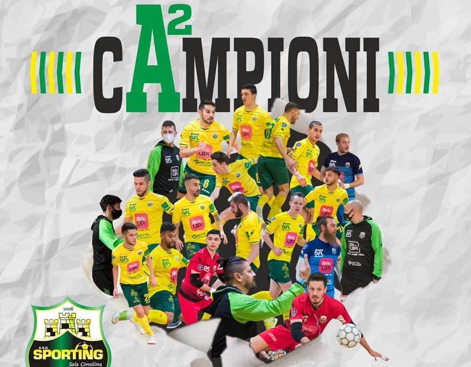 Calcio a 5, lo Sporting Sala Consilina promosso in serie A2