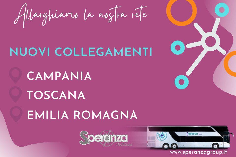 Trasporti, dal Cilento nuove tratte per Emilia Romagna e Toscana