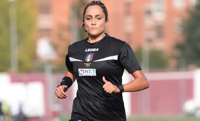 Maria Marotta, la prima donna arbitro a debuttare in serie B