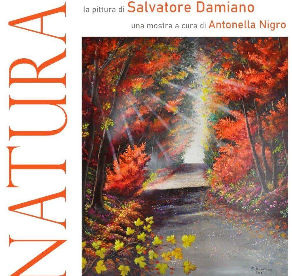 """Al castello aragonese si inaugura """"Natura"""", la mostra d'arte di Salvatore Damiano"""
