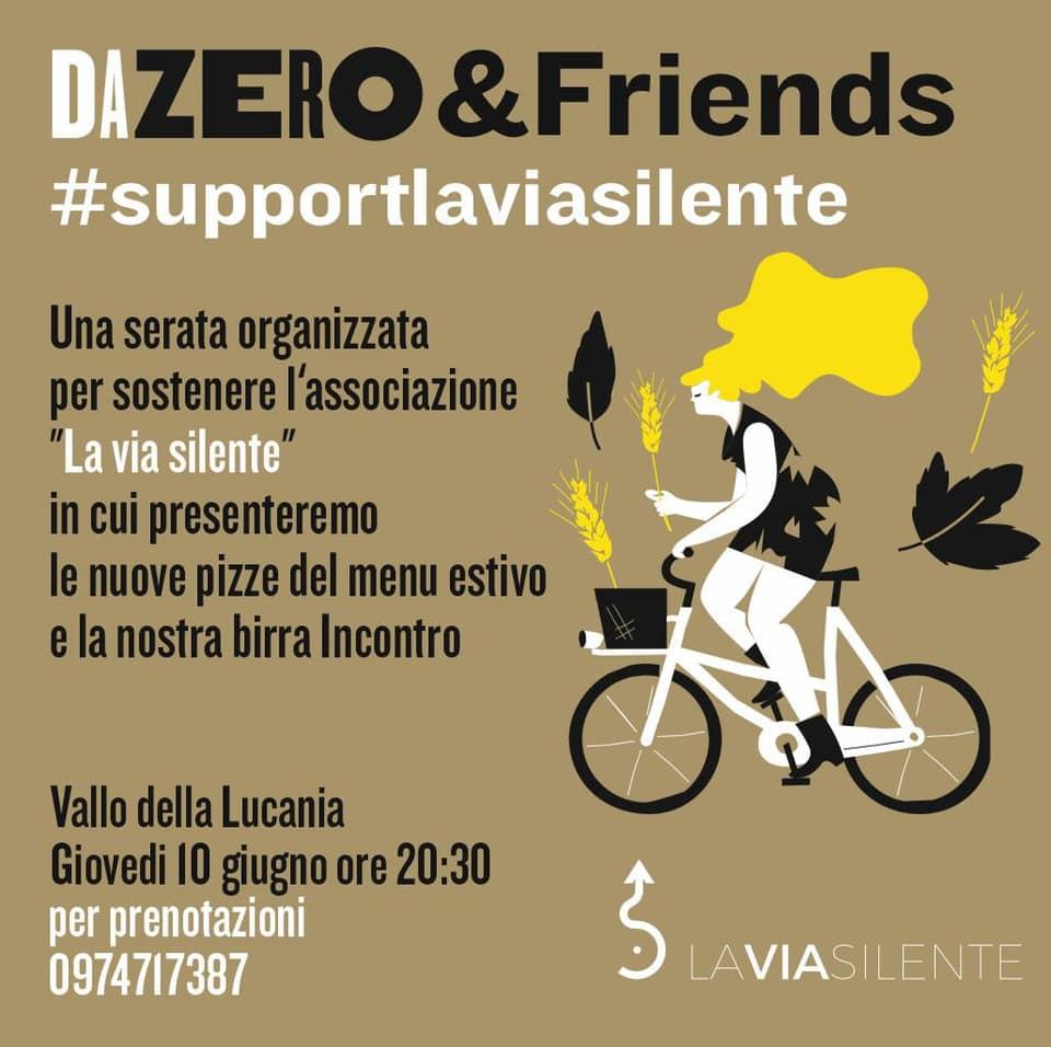 Da Zero per la Via Silente: una pizza per sostenere il crowdfunding