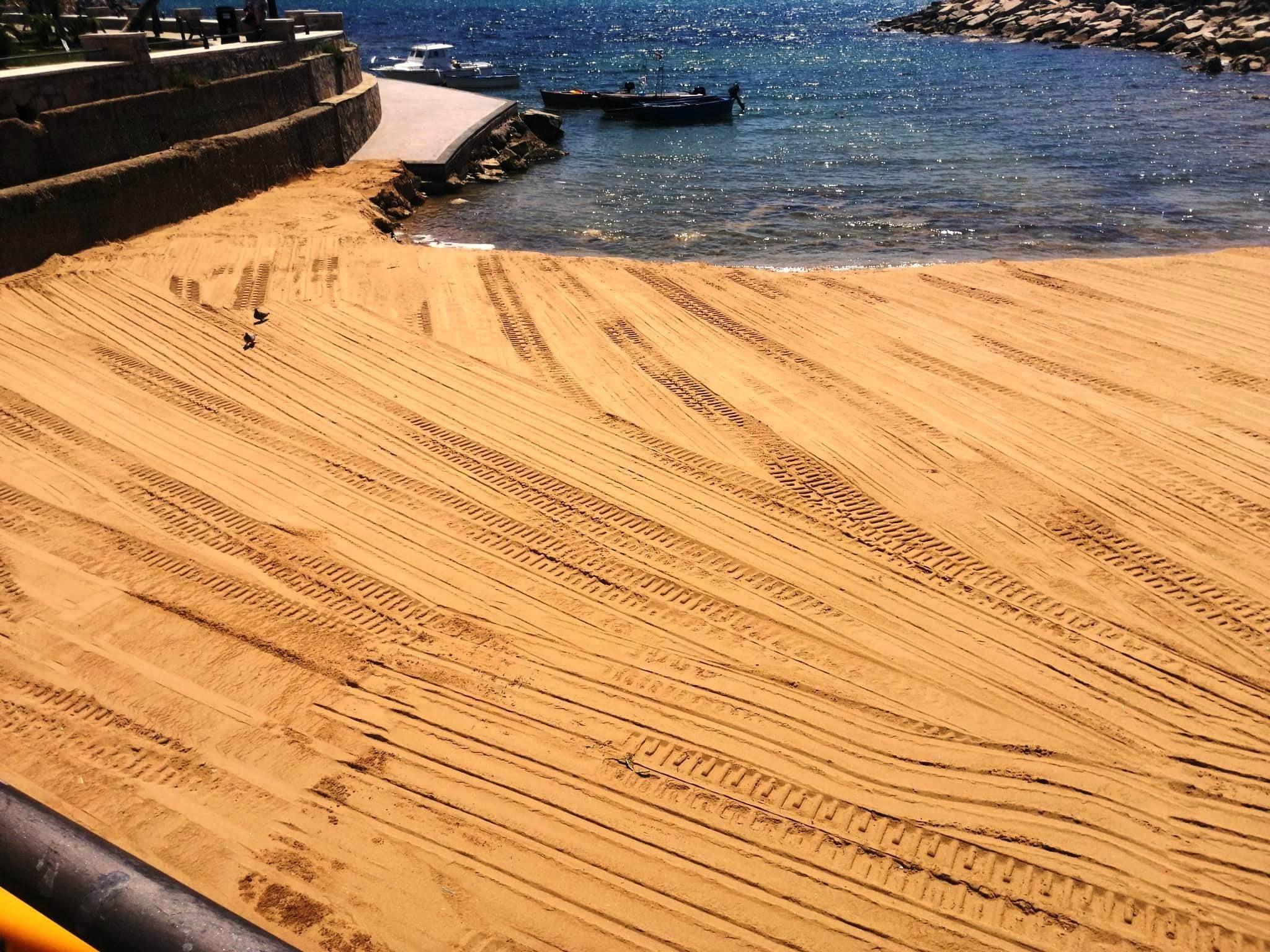 Castellabate, pulizia spiagge sulla costa di Benvenuti al Sud
