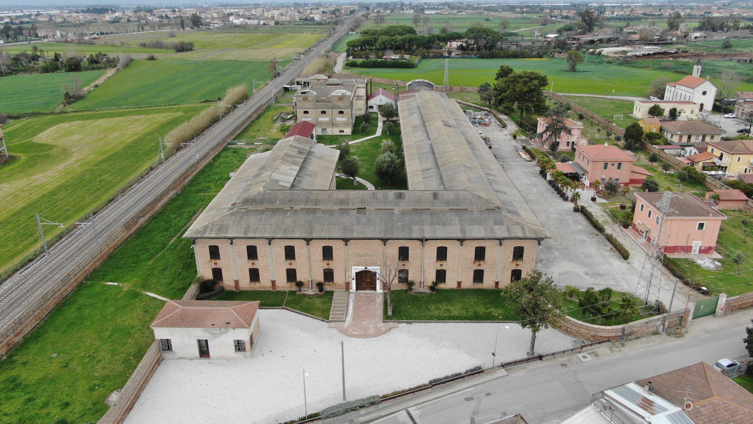 Ex Tabacchificio, ora è di proprietà del Comune di Capaccio Paestum