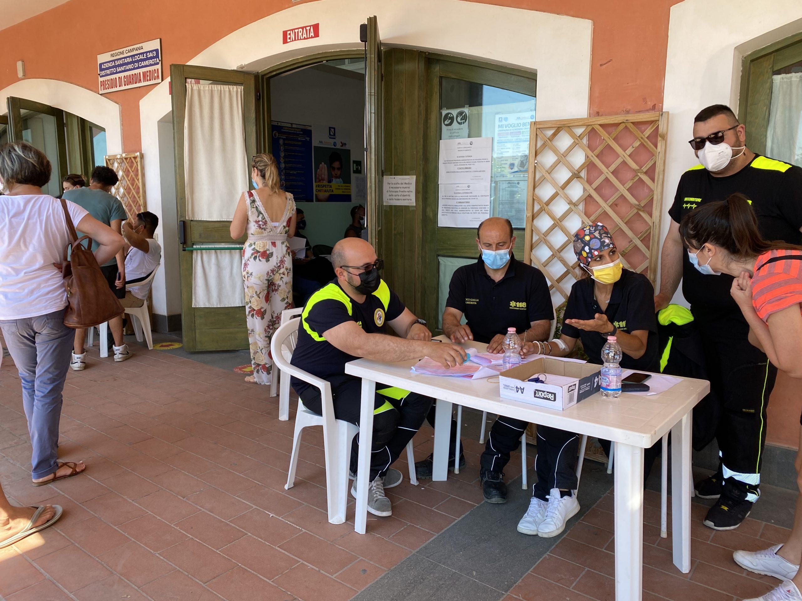 Camerota, oltre 700 operatori turistici vaccinati