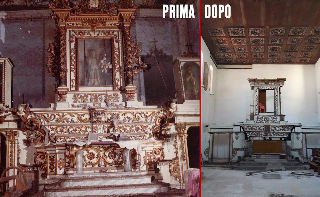 Ritrovati gli angeli rubati nella chiesa di Polla
