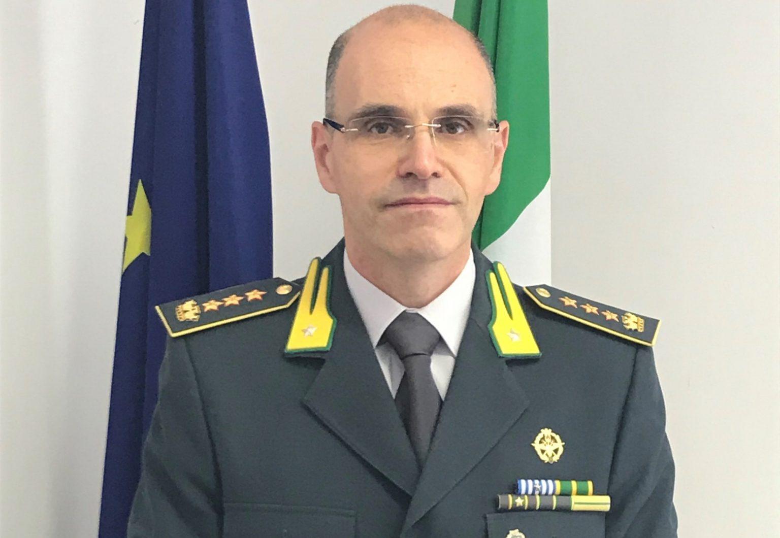Il colonnello Michele Onorato di Padula è il comandante provinciale della Gdf di Potenza