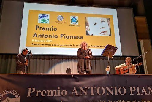 Premio Antonio Pianese, la cerimonia al Castello di Agropoli